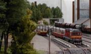 Hektor T435.0100 jako náhrada na osobním vlaku v Kaplici. Vedle 810 353-3.