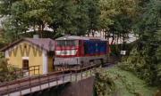 749 018-8 se vrací jako Lv do stanice Kaplice.