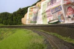 Pohled na horní trať směrem do Mirovic