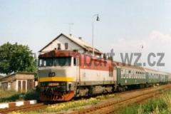 749 222-6 v Medlešicích dne 13.7.1996. foto Tomáš Bartoš