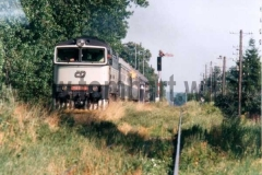 750 014-3 opouští Slatinany.léto 95. foto Petr Zitko