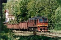781 591-3 ve Stráži nad Ohří dne 16.5.1998. foto Tomáš Bartoš